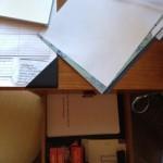 manuscript in a drawer