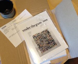 under the gum tree issue 17, literary magazine, digital arts