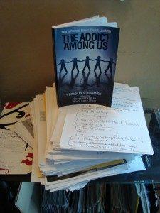 addict book, editorial work,
